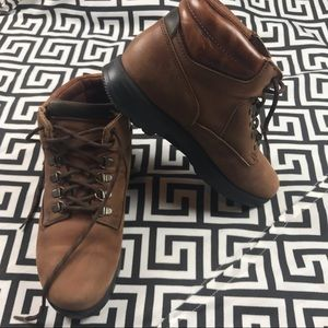 Vintage •DEXTER• leather hiking boots